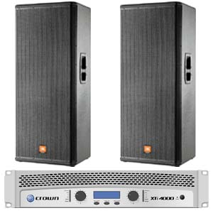 Jbl Mrx525 Speakers And Amplifier R1300 Indaskys