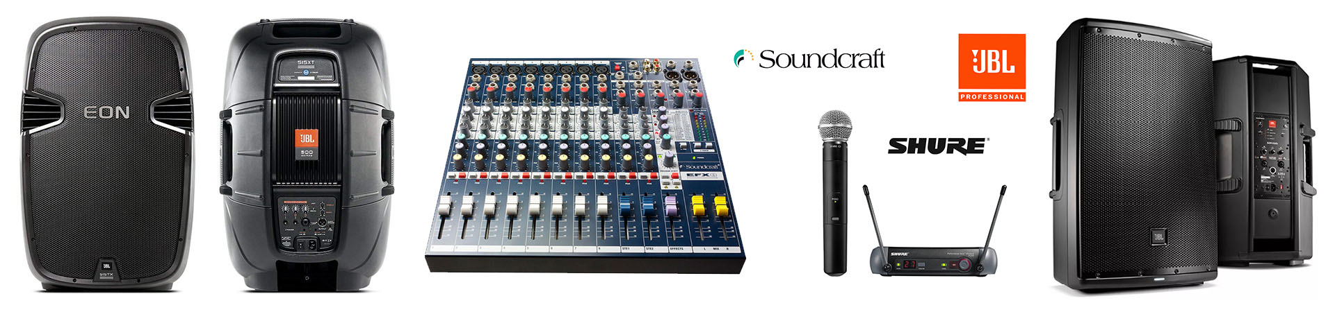 sound hire, speakers for hire,